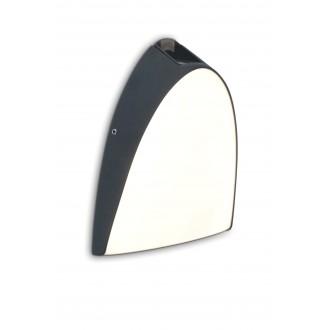 LUTEC 5188801118 | Apollo-LU Lutec zidna svjetiljka 1x LED 800lm 3000K IP54 antracit siva, opal