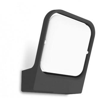 LUTEC 5192801118 | Faccia Lutec zidna svjetiljka 1x LED 1000lm 3000K IP54 antracit siva, opal