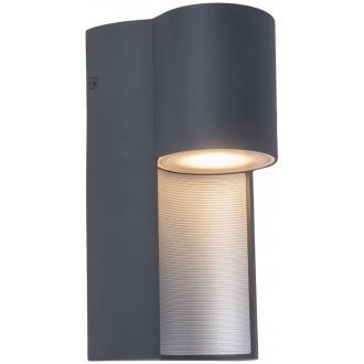 LUTEC 5196501118 | Urban-LU Lutec zidna svjetiljka 1x GU10 IP54 tamno siva