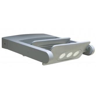 LUTEC 5614402118 | Mini-LedspoT Lutec zidna svjetiljka elementi koji se mogu okretati 2x LED 1210lm 4000K IP65 antracit siva