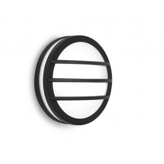 LUTEC 6336101118 | Titan Lutec zidna, stropne svjetiljke svjetiljka 1x E27 IP54 tamno sivo, opal