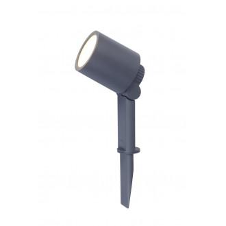 LUTEC 6609201118 | Explorer Lutec ubodne svjetiljke svjetiljka elementi koji se mogu okretati, sa kablom i vilastim utikačem 1x LED 300lm 3000K IP54 antracit siva, prozirno