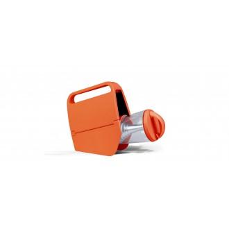 LUTEC 6900302340 | Mini-Butterfly Lutec nosiva, stolna svjetiljka sa tiristorski dodirnim prekidačem solarna baterija, jačina svjetlosti se može podešavati, USB utikač, punjač telefona, punjač mobilnog telefona, elementi koji se mogu okretati 1x LED 180lm