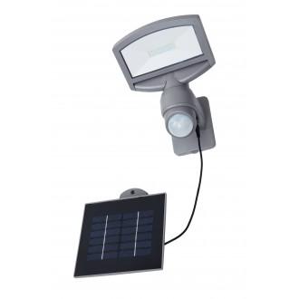 LUTEC 6901601000 | Sunshine Lutec reflektor svjetiljka sa senzorom, svjetlosni senzor - sumračni prekidač solarna baterija, elementi koji se mogu okretati 1x LED 360lm 4000K IP44 srebrna siva, prozirno