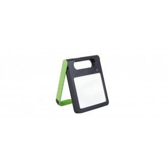 LUTEC 6907701339 | Padlight Lutec nosiva, stolna svjetiljka sa tiristorski dodirnim prekidačem solarna baterija, jačina svjetlosti se može podešavati, USB utikač, punjač telefona, punjač mobilnog telefona, elementi koji se mogu okretati 1x LED 200lm 4000K