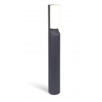 LUTEC 7188601125 | Bati Lutec podna svjetiljka 65cm 1x LED 1100lm 4000K IP44 tamno sivo, opal