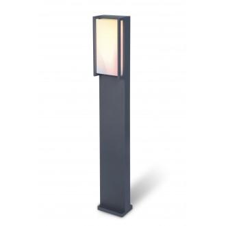 LUTEC 7193002118 | WiZ-Qubo Lutec podna WiZ smart rasvjeta 75cm jačina svjetlosti se može podešavati, sa podešavanjem temperature boje, promjenjive boje, elementi koji se mogu okretati, spajanje na Wi-Fi 1x LED 1000lm 2200 <-> 6500K IP54 antracit si