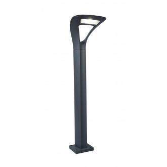 LUTEC 7225201118 | Anda Lutec podna svjetiljka 80cm 1x LED 1040lm 4000K IP65 antracit siva