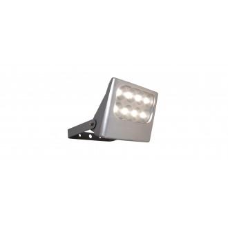 LUTEC 7617001112 | Negara Lutec reflektor svjetiljka elementi koji se mogu okretati 1x LED 1540lm 4000K IP54 srebrna siva, prozirno