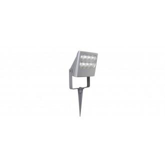 LUTEC 7617003112 | Negara Lutec ubodne svjetiljke reflektor elementi koji se mogu okretati 1x LED 1540lm 4000K IP54 srebrna siva, prozirno