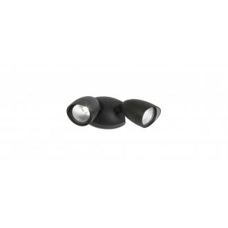 LUTEC 7621902012 | Shrimp Lutec reflektor svjetiljka elementi koji se mogu okretati 2x LED 1380lm 4000K IP54 crno, prozirno