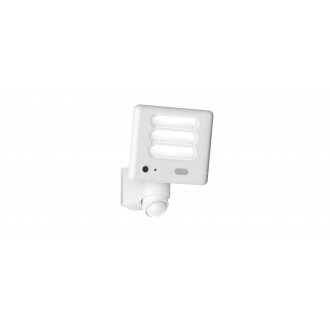 LUTEC 7625501053 | Secury_Light-Esa Lutec lampa sa kamerom reflektor sa senzorom, svjetlosni senzor - sumračni prekidač zvučnik, mikrofon, jačina svjetlosti se može podešavati, elementi koji se mogu okretati, spajanje na Wi-Fi 1x LED 1530lm 5000K IP54 bij