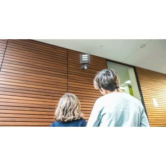 LUTEC 7625501118 | Secury_Light-Esa Lutec lampa sa kamerom reflektor sa senzorom, svjetlosni senzor - sumračni prekidač zvučnik, mikrofon, jačina svjetlosti se može podešavati, elementi koji se mogu okretati, spajanje na Wi-Fi 1x LED 1530lm 5000K IP54 ant