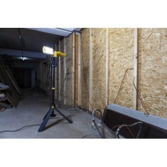 LUTEC 7629001341 | Peri-LU Lutec nosiva reflektor elementi koji se mogu okretati, s podešavanjem visine, sa kablom i vilastim utikačem 2x LED 3200lm 5000K IP54 antracit siva, žuto, acidni