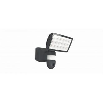 LUTEC 7629502335 | Secury_Light-Peri Lutec lampa sa kamerom reflektor sa senzorom, svjetlosni senzor - sumračni prekidač zvučnik, mikrofon, jačina svjetlosti se može podešavati, elementi koji se mogu okretati, spajanje na Wi-Fi 1x LED 2120lm 5000K IP44 an
