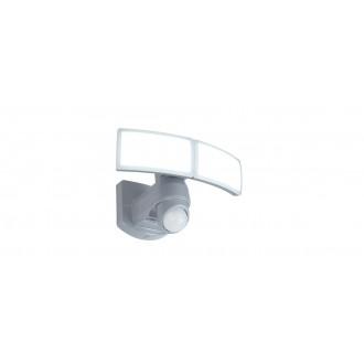 LUTEC 7632201053 | Arc-LU Lutec reflektor svjetiljka sa senzorom, svjetlosni senzor - sumračni prekidač elementi koji se mogu okretati 2x LED 1200lm 5000K IP54 bijelo, opal