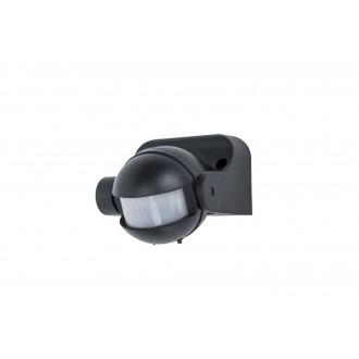 LUTEC 9701601330 | Lutec sa senzorom PIR 180° svjetlosni senzor - sumračni prekidač IP44 crno