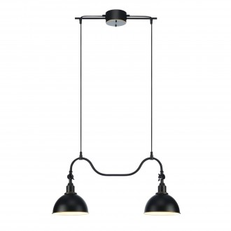 MARKSLOJD 104635 | Ekelund Markslojd visilice svjetiljka 2x E27 crno, zlatno, bijelo