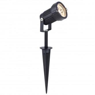 MARKSLOJD 104722 | Tradgard Markslojd ubodne svjetiljke svjetiljka elementi koji se mogu okretati 1x LED 300lm 3000K IP44 crno