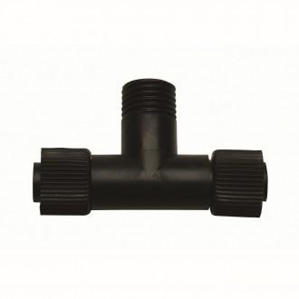 MARKSLOJD 104729 | Tradgard Markslojd element sustava - T- razdjelnik rezervni dijelovi IP44 crno