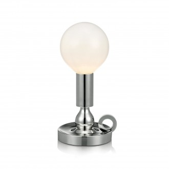 MARKSLOJD 105771 | History Markslojd stolna svjetiljka 30cm s prekidačem 1x E27 krom, opal