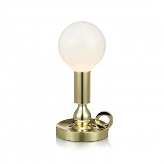 MARKSLOJD 105772 | History Markslojd stolna svjetiljka 30cm s prekidačem 1x E27 mesing, opal