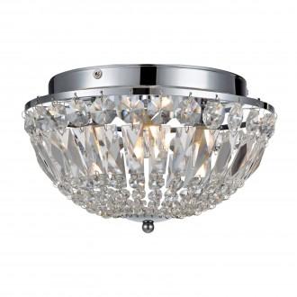 MARKSLOJD 105796 | Estelle Markslojd stropne svjetiljke svjetiljka jačina svjetlosti se može podešavati 3x G9 IP44 krom, prozirno