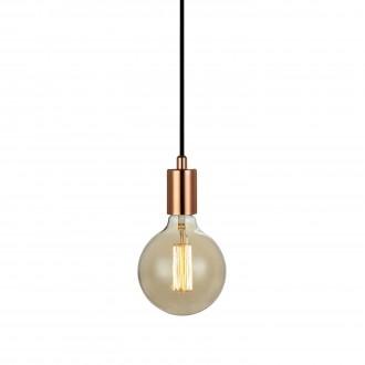 MARKSLOJD 106171 | Sky-MS Markslojd visilice svjetiljka sa prekidačem na kablu 1x E27 crveni bakar, crno
