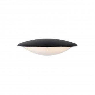 MARKSLOJD 106531 | Apus Markslojd zidna svjetiljka 1x LED 300lm IP44 crno, acidni