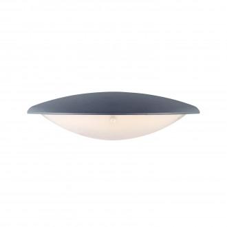 MARKSLOJD 106532 | Apus Markslojd zidna svjetiljka 1x LED 300lm IP44 sivo, acidni