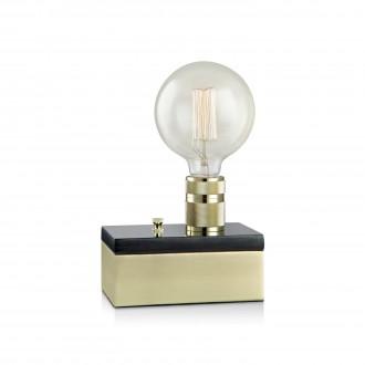 MARKSLOJD 106618 | Etui Markslojd stolna svjetiljka 15cm sa tiristorskim prekidačem jačina svjetlosti se može podešavati 1x E27 mesing, crni mramor