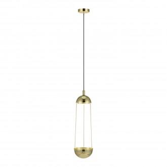 MARKSLOJD 106656 | Grow Markslojd visilice svjetiljka 1x E14 zlatno