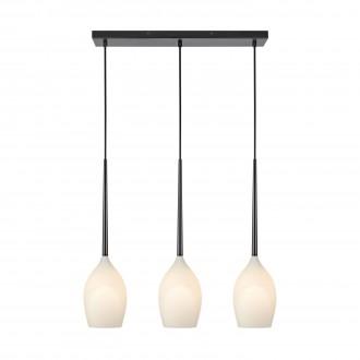 MARKSLOJD 106808 | Salut-MS Markslojd visilice svjetiljka 3x E14 crno, opal