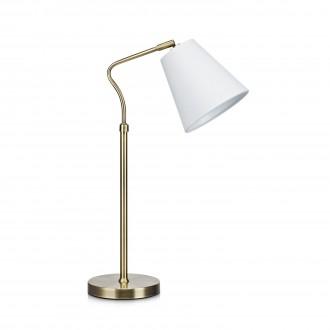 MARKSLOJD 106869 | Tindra Markslojd stolna svjetiljka 50cm sa prekidačem na kablu 1x E14 antik, bijelo