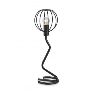 MARKSLOJD 107006 | Clive Markslojd stolna svjetiljka 45cm sa prekidačem na kablu 1x E14 crno