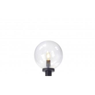 MARKSLOJD 107119 | Mix_Match Markslojd glava lampe svjetiljka 1x E27 IP44 crno, prozirno