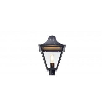 MARKSLOJD 107120 | Mix_Match Markslojd glava lampe svjetiljka 1x E27 IP44 crno, prozirno