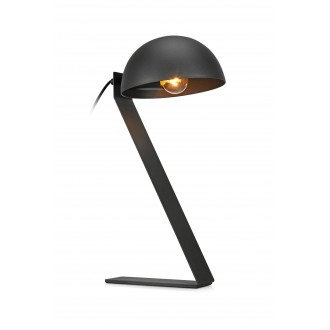 MARKSLOJD 107137 | Flamingo Markslojd stolna svjetiljka 44cm s prekidačem 1x E14 crno