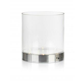 MARKSLOJD 107326 | Bouquet Markslojd stolna svjetiljka 19cm s prekidačem baterijska/akumulatorska 1x LED 160lm krom, prozirno
