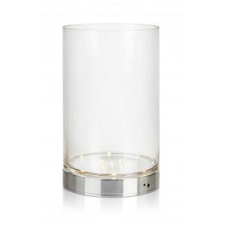 MARKSLOJD 107327 | Bouquet Markslojd stolna svjetiljka 29cm s prekidačem baterijska/akumulatorska 1x LED 160lm krom, prozirno