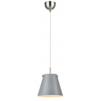 MARKSLOJD 107390 | Tribe-MS Markslojd visilice svjetiljka s mogućnošću skraćivanja kabla 1x E27 sivo, čelik