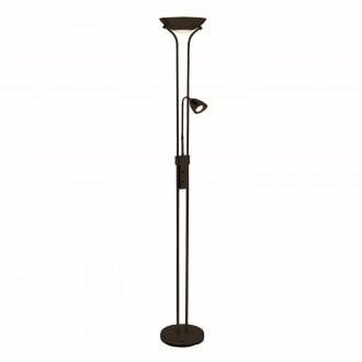 MARKSLOJD 111223 | Detroit-MS Markslojd podna svjetiljka 180cm sa tiristorskim prekidačem fleksibilna, jačina svjetlosti se može podešavati 2x GU10 crno