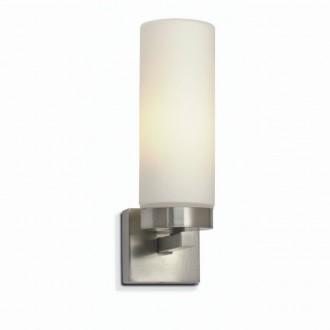 MARKSLOJD 234741,450712 | Stella-MS Markslojd zidna svjetiljka 1x E14 IP44 čelik, acidni