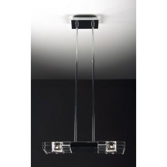 MAXLIGHT 119 12 12 01 | MarsM Maxlight visilice svjetiljka 2x G9 krom, prozirno
