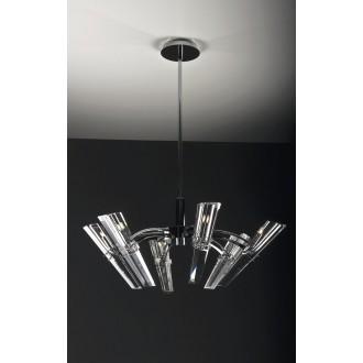 MAXLIGHT 147 06 12 01 | King Maxlight luster svjetiljka 6x G9 krom, prozirno