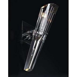 MAXLIGHT 147 71 12 01 | King Maxlight zidna svjetiljka elementi koji se mogu okretati 1x G9 krom, prozirno