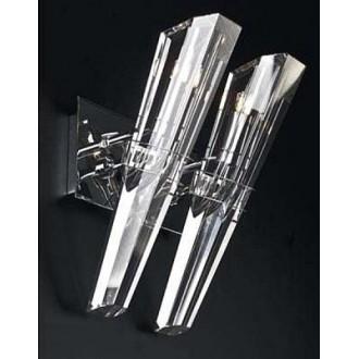 MAXLIGHT 147 72 12 01 | King Maxlight zidna svjetiljka elementi koji se mogu okretati 2x G9 krom, prozirno