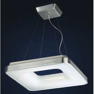 MAXLIGHT 2768/4-1428 | Braga Maxlight visilice svjetiljka 4x 2G11 / PL-L/4P 4000K aluminij, bijelo