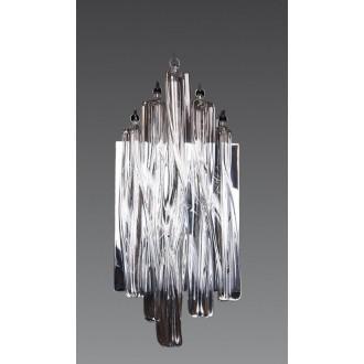 MAXLIGHT 3817/3W | BilbaoM Maxlight zidna svjetiljka 3x G4 krom, prozirno