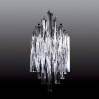 MAXLIGHT 3817/5W | BilbaoM Maxlight zidna svjetiljka 5x G4 krom, prozirno